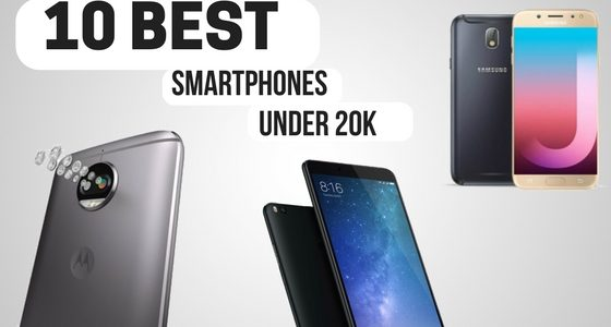 Top 10 Best Budget Smartphone Under 20K in India