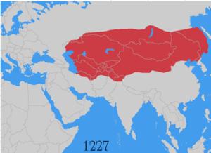 genghis khan Empire
