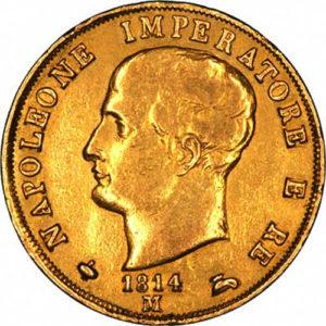 Padmaswamy Golden Napoleone Coins