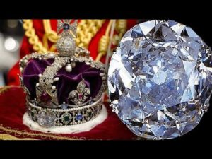 british Crown with kohinoor Diamond