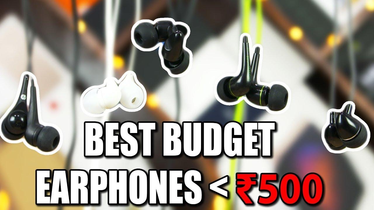 Top 5 Earphones Under 500 Rs