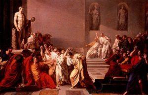 Julius Caesar's Last Words
