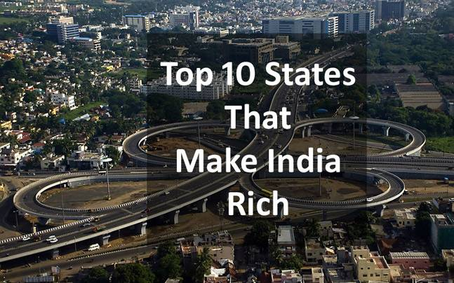 List of Top 10 Richest State In India 2018