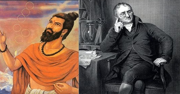 The Indian Sage who developed Atomic Theory 2,600 years ago, not Dalton of England: