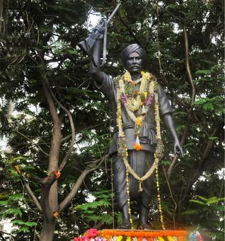 "Telangana ""Komaram Bheem District""   First Tribal Warrior of India ""Komaram Bheem"""