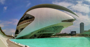 Queen Sofia Palace of the Arts, Valencia, Spain