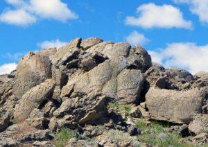 Petroglyphs Of Winnemucca Lake