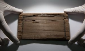 A tablet dated AD62 containing an insight into the Roman response to the Boudican revolt that devastated much of London.