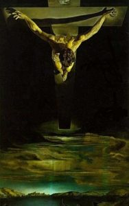 Christ of Saint John of the Cross,' by Salvador Dalí, 1951