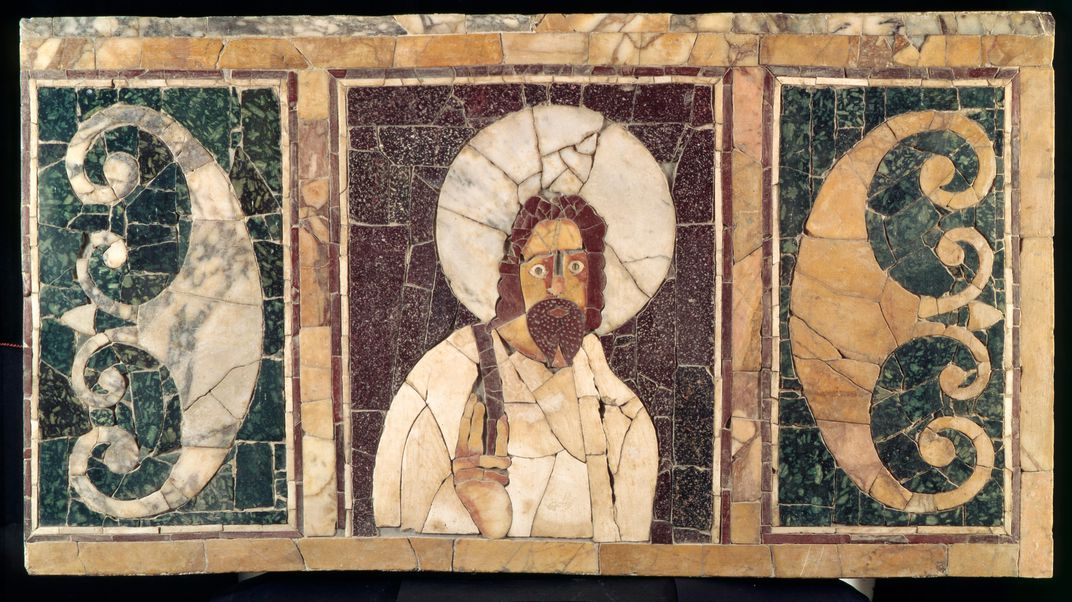 Archaeologist discovered One of the earliest images of Jesus' unearthed in Egyptian tomb