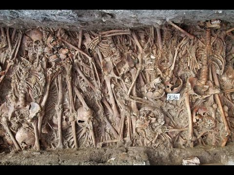 Archaeologist discovered 48 skeletons in 'Plague Pit' in Britain in Recent Years