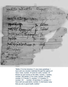 Oldest handwritten documents