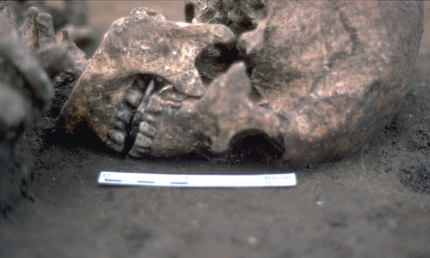 Archaeologists discover Roman Britain man whose tongue was replaced by a stone