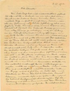 In a letter penned in 1922, Albert Einstein articulated his eerily accurate fears about the rise of nationalism, antisemitism and violence in his home country of Germany.