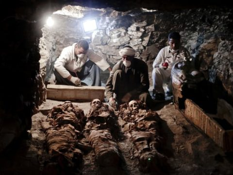 Archaeologist uncovered Ancient Egyptian treasures in a tomb near Valley of the Kings