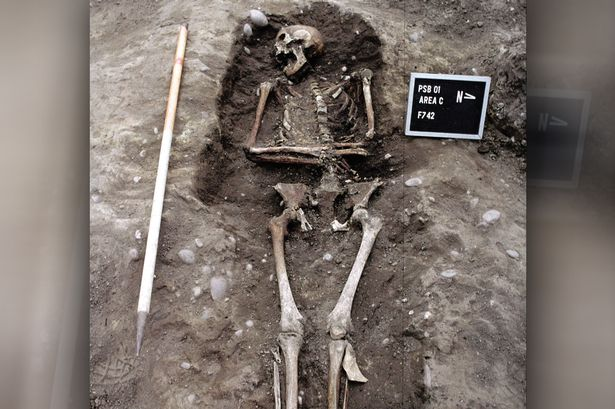 Archaeologist Excavated Medieval murder victim in East Lothian Scotland