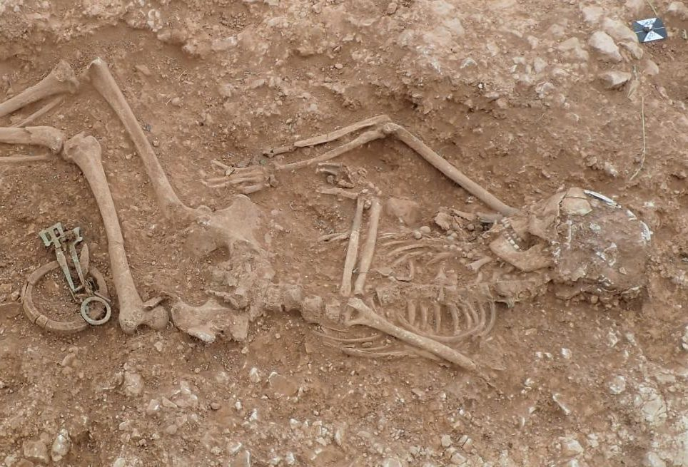Anglo-Saxon cemetery discovered by Archaeologist