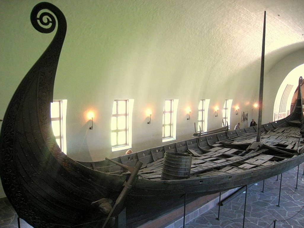 Viking ship discovered under the ground in Norway