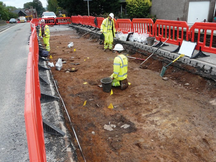 Roman fort settlement revealed in Cumbria England