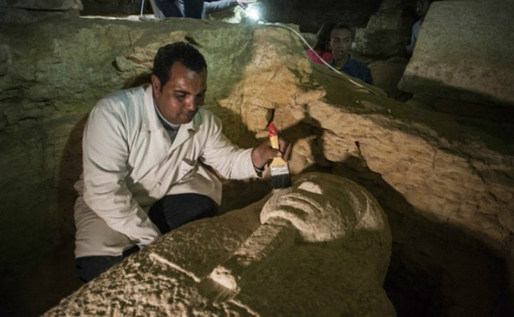 Mummified priests found in 2,300-year-old cemetery in Egypt's West Nile River