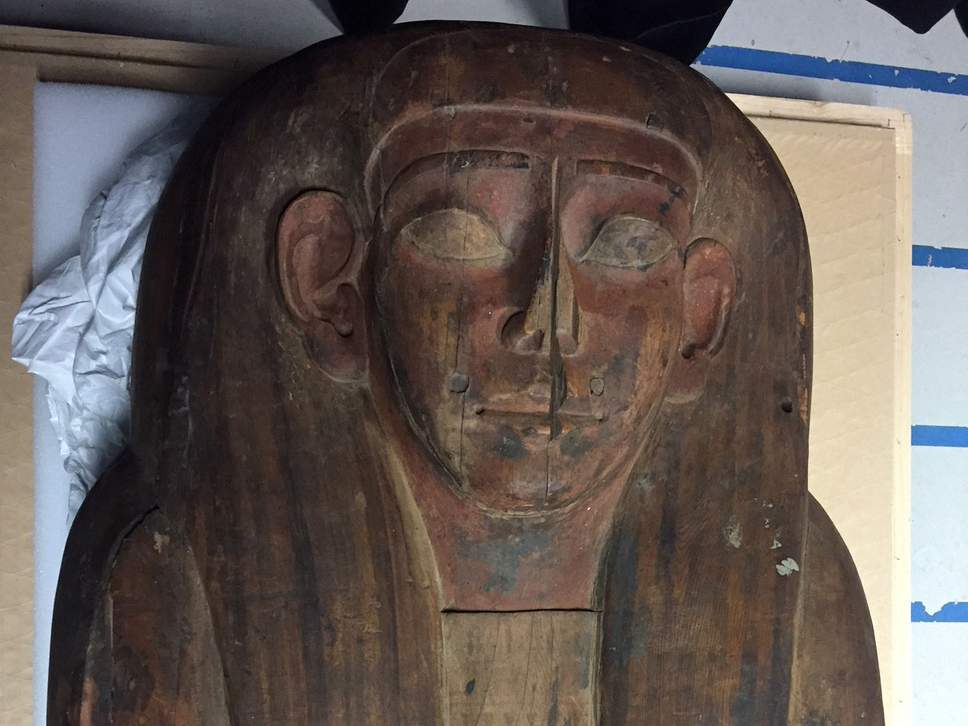 Mummy of 2,500-year-old Egyptian priestess discovered in 'empty' coffin