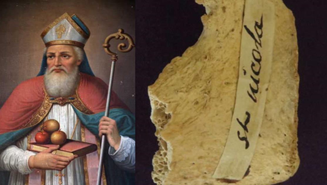 Bizarre Origins of 4th-Century 'Santa Claus Bone' Revealed