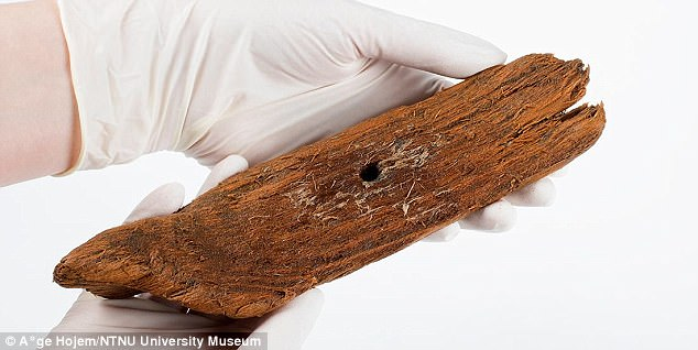 1,000-year-old wooden toy Viking boat is unearthed in Norway