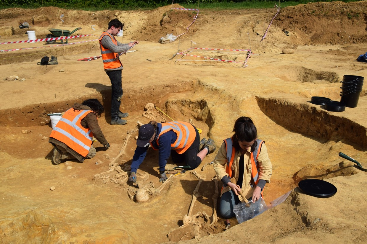 Dozens of decapitated skeletons unearthed in mysterious Roman Cemetery