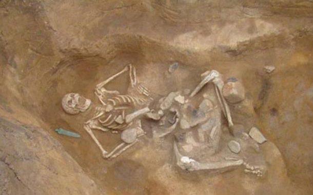 Giant Human Skeleton unearthed in Varna, Bulgaria