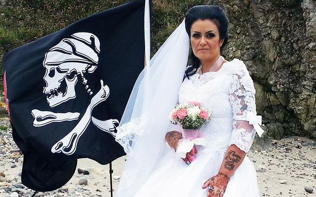 Till death do us part and then some. Amanda Teague from Drogheda, Co. Louth, had married the ghost of a Haitian pirate who was executed for being a thief on the high seas but married bliss .