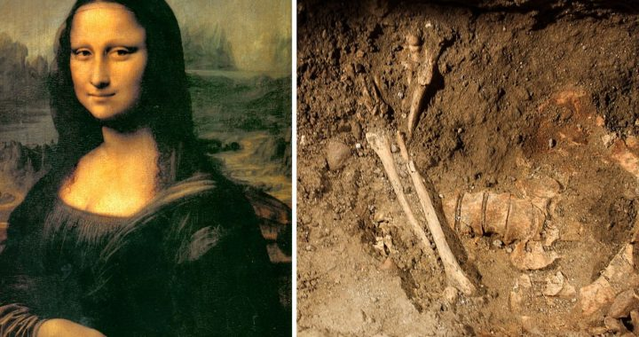 Maybe Mona Lisa? Buried Skeleton Found by Archaeologist