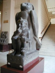 Ramesses II as a child at Cairo Museum