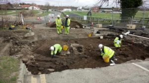 Beneath Britain's longest road lay a treasure trove of rare Roman artifacts.