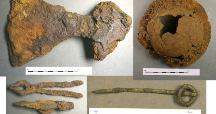 Uncovered Viking Funeral Ship In Scotland Contains Treasure Trove