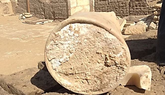 3,300-Year-Old Cheese Found in Saqqara Egypt.