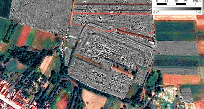 Traces of 1st-Century A.D. Roman Fort Found