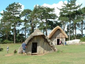 Anglo-Saxon village at West Stow.
