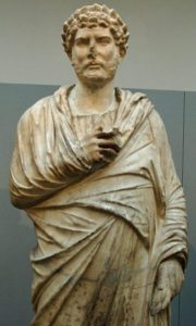 This famous statue of Hadrian in Greek dress was revealed in 2008 to have been forged in the Victorian era by cobbling together a head of Hadrian and an unknown body. For years, the statue had been used by historians as proof of Hadrian's love of Hellenic culture.