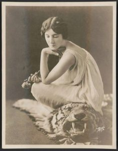 """Audrey Munson in """"Purity,"""" Liberty Theatre / Apeda, N.Y."""