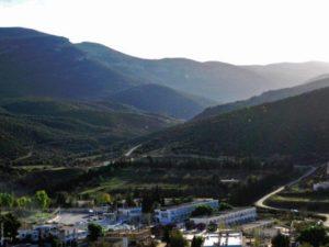 Hammam Essalhine (Aquae Flavianae) in the Aurès Mountains, Algeria.
