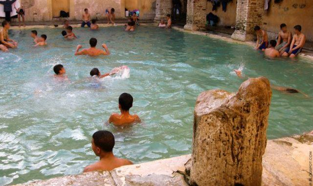 Woow This is Amazing: A Roman bathhouse still in use after 2,000 years