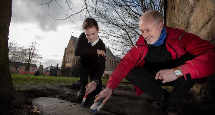 Teen Boy Discovers Long-Lost Medieval Gravestones in Scotland