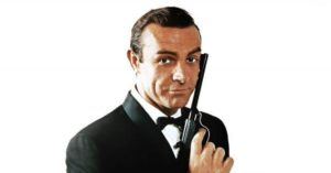 Sean Connery as 007.