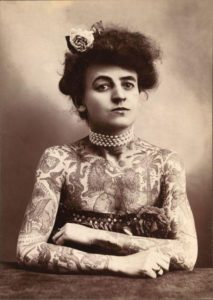 Maud Wagner in 1907.