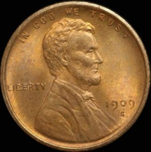 1909-S Lincoln cent
