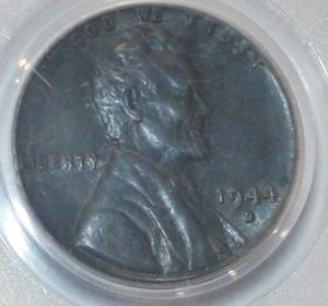 1944-D steel cent