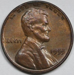 1955 doubled-die cent