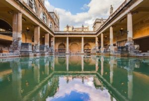 Roman Baths, as without any new architectural elements