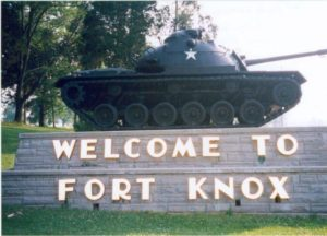 Fort Knox tank.