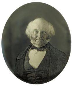 Daguerreotype of Martin Van Buren, c. 1855